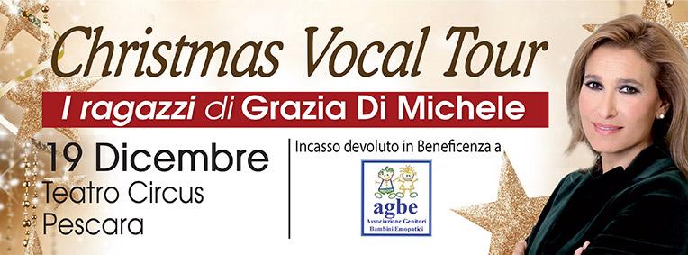 Vocal Tour Pescara 19 Dicembre 2015