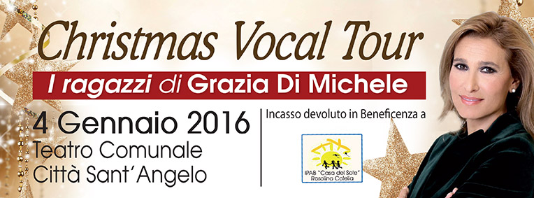 Vocal Tour Città Sant'Angelo 4 Gennaio 2016